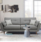 custom designs modern luxury style living room sectional lounge leisure sofa 2 seater