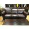 Reception 3 2 seater brown couches living room sectional furniture luxury leather sofa