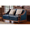Stability Modern Style Fancy Grey Velvet Fabric Sleeper Couch Divan Sofa Bed For Living Room