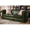 High quality morden furniture royal wooden leather couches relaxation furniture 4 3 seat sofa set