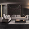 Customizable morden advanced High-quality linen Living room combination sofa