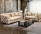 US East spot delivery warehouse including delivery fee cheap luxury yellow 5 seat living room sofa furniture set