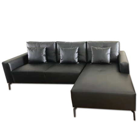 custom italian morden luxury black couches living room furniture 5 seater leather recliner sofa bed set