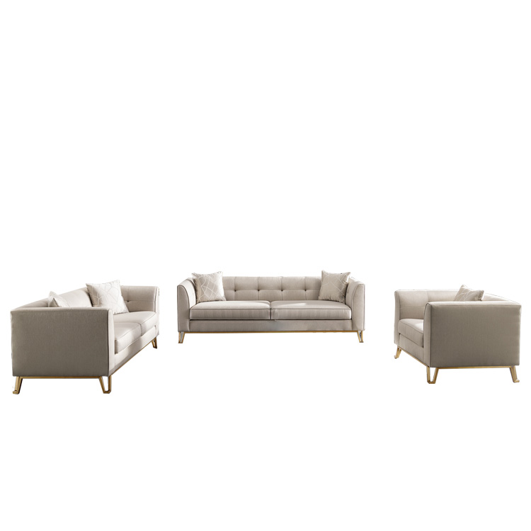 wholesale custom fabric sectional combination 5 seater sofa set designs with price